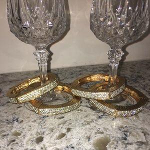 Gold/Diamond bangles